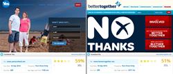 SiteChecker's comparison of Scottish independence referendum websites
