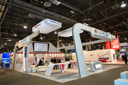 Trade Show Exhibit by Absolute Exhibits at CTIA Wireless 2014