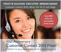 Qualfon and zulily to Share Thought Leadership around Premium Customer Care at Frost & Sullivan Event