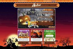 R.M. Palmer Halloween site