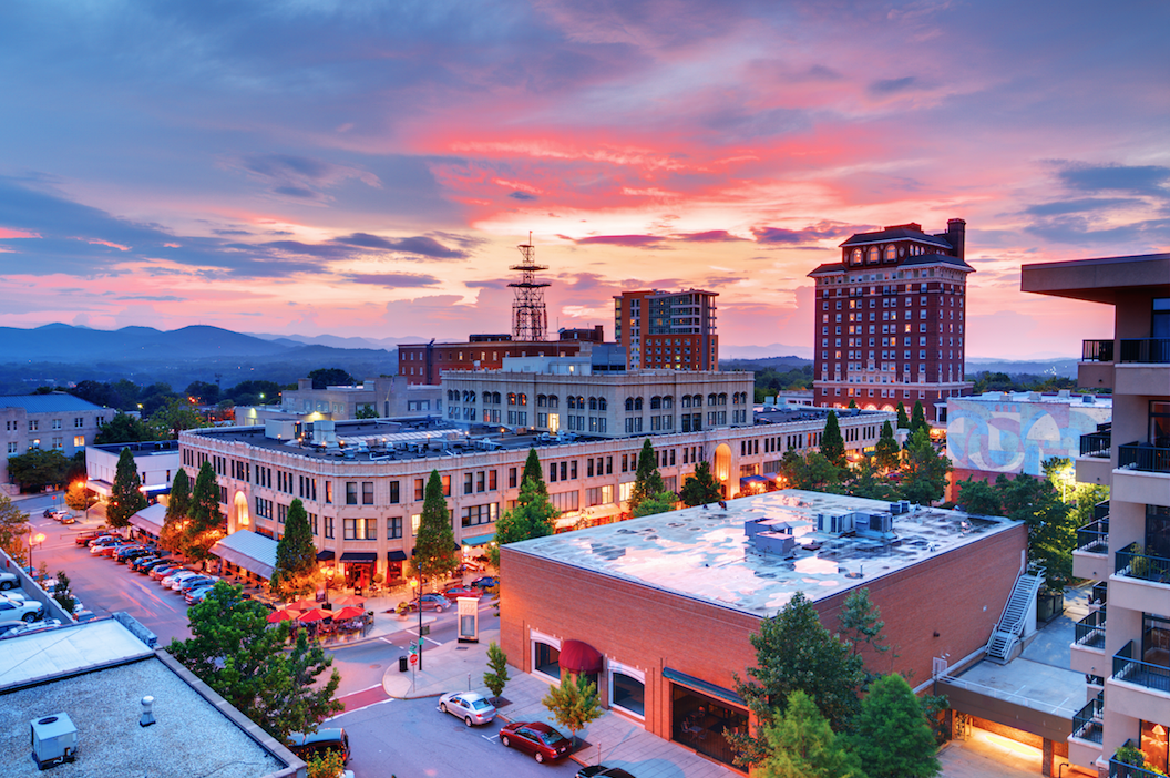 Explore the asheville art crawl in october 2014 in one of for Best small towns in north carolina