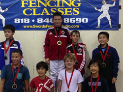 Bartosz Kuligowski took Gold and William Elloway took Bronze at SoCal RYC in Pasadena - September 2014