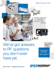 Pasternack's 2014 RF Product Guide