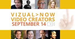 Vizual>NOW Event Line-up, Sept. 14, 2014