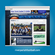 Envoc helps Riverparishfootball.com take it to the Next Level