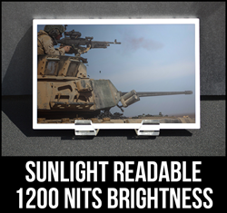 1200nit 12 Inch Sunlight Readable LCD