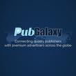PubGlaxy Logo and Slogan