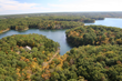 The largest of Innsbrook's more than 100 lakes, 236-acre Alpine Lake.