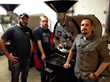 Coffee team at Crimson Cup Coffee & Tea (from left): Chis Shegitz, Dave Eldridge and Brandon Bir