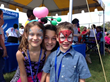 Face painting was one of many fun activities available  at this year's Family Fun Day.