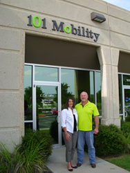 Debra and Bruce Dowden, owners of 101 Mobility of Austin *Photo courtesy of Community Impact Newspaper