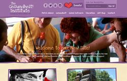 the gesundheit! institute website by idea marketing group
