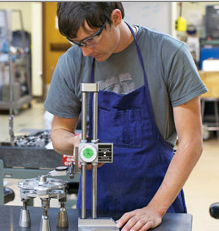 Mesa Community Colleges offers a hands-on manufacturing program.