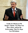 Tamils for Obama to PM Harper: Thanks  for What You Have Done, and...