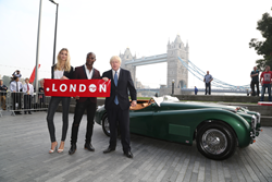 Storm Models with Mayor of London Boris Johnson