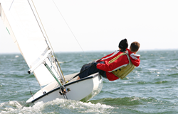 Dinghy Sailing Image With Insurance