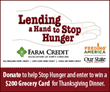 Farm Credit Associations of North Carolina Hold Food Drive to Benefit...
