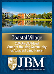 Coastal Village, Student Housing Community Units/800 Beds, located in Fort Myers, Florida.