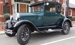 Model A Ford Business Coupe