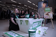 Marks and Spencer Warrington Gemini and Better Bathrooms teamed up for a gooey gunge challenge