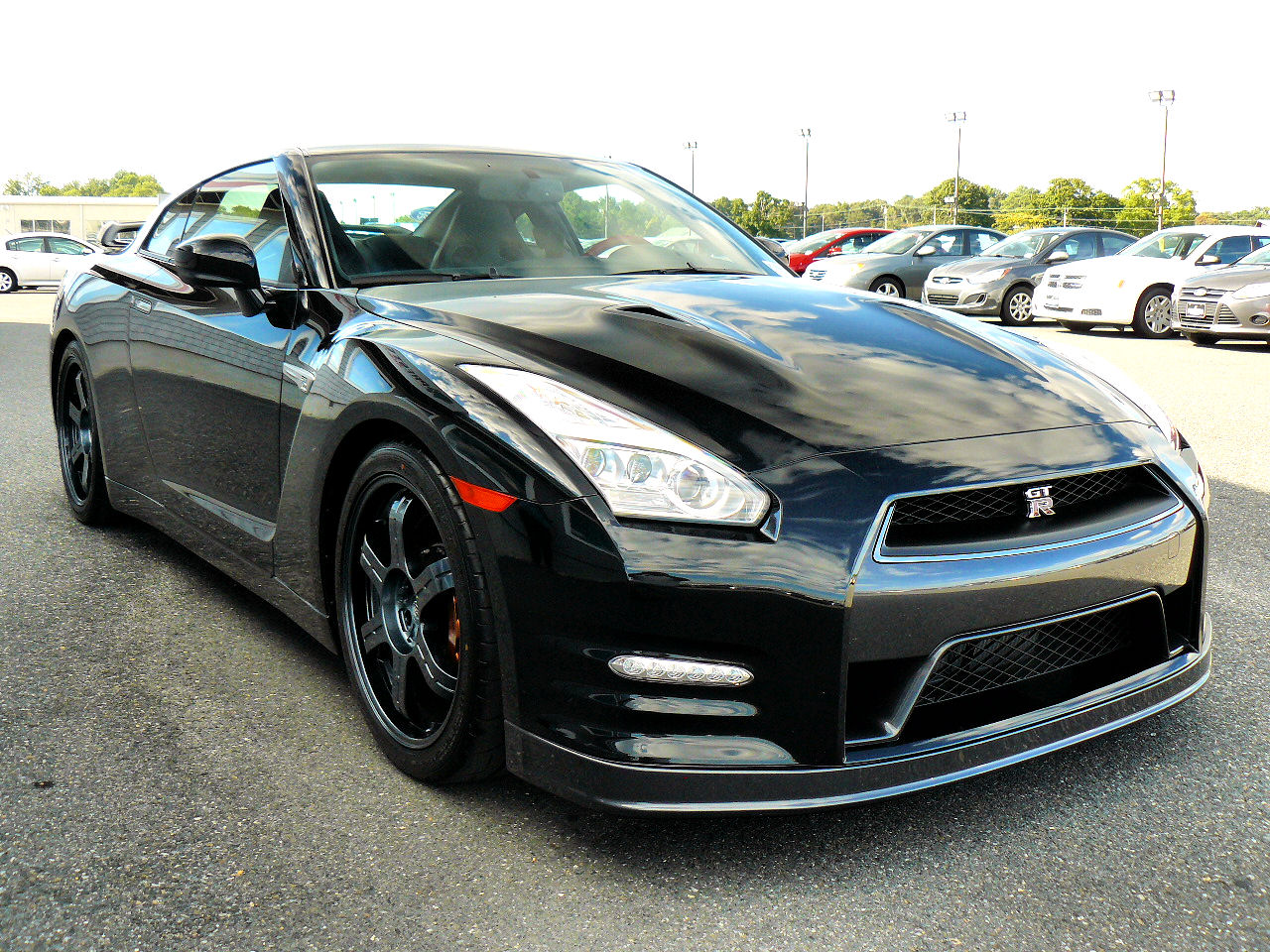 2015 nissan gt r black edition at preston nissan in maryland. Black Bedroom Furniture Sets. Home Design Ideas