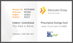 Pharmacy Rx Discount Card by Advocator Group