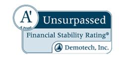 Demotech rates Conventus A-Prime Unsurpassed