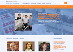 Princeton Chemistry Department Website
