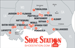 Shoe Station Store Map