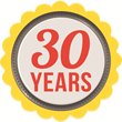 Shoe Station 30 Years Logo