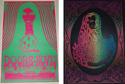 1967 The Doors  Eagle Auditorium Seattle Concert Posters