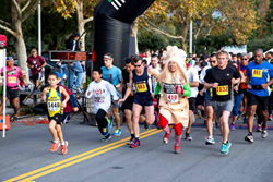 The 2013 Annual Holiday Classic Half-Marathon and 5K gets underway in Loma Linda, CA.  Costumes and holiday attire welcome