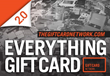 "The Destination for ""Everything Gift Card"" Introduces..."