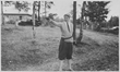 Former First Lady Eleanor Roosevelt Shooting A Pistol