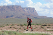 Runner along the course of the Grand to Grand Ultra