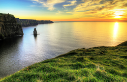 The iconic headlands of the Cliffs of Moher