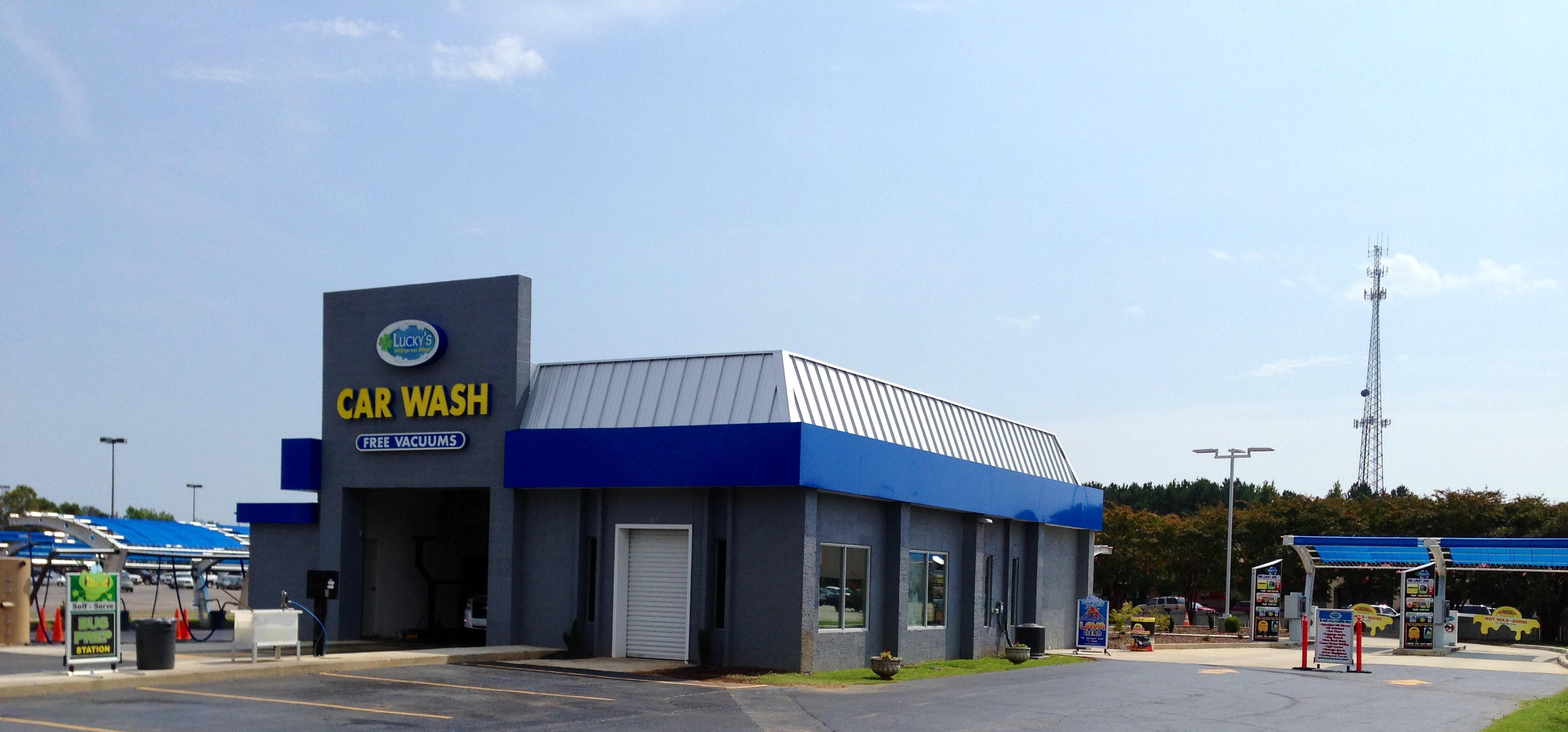 How To Buff A Car >> Lucky's, An Athens Alabama Based Express Car Wash, To ...