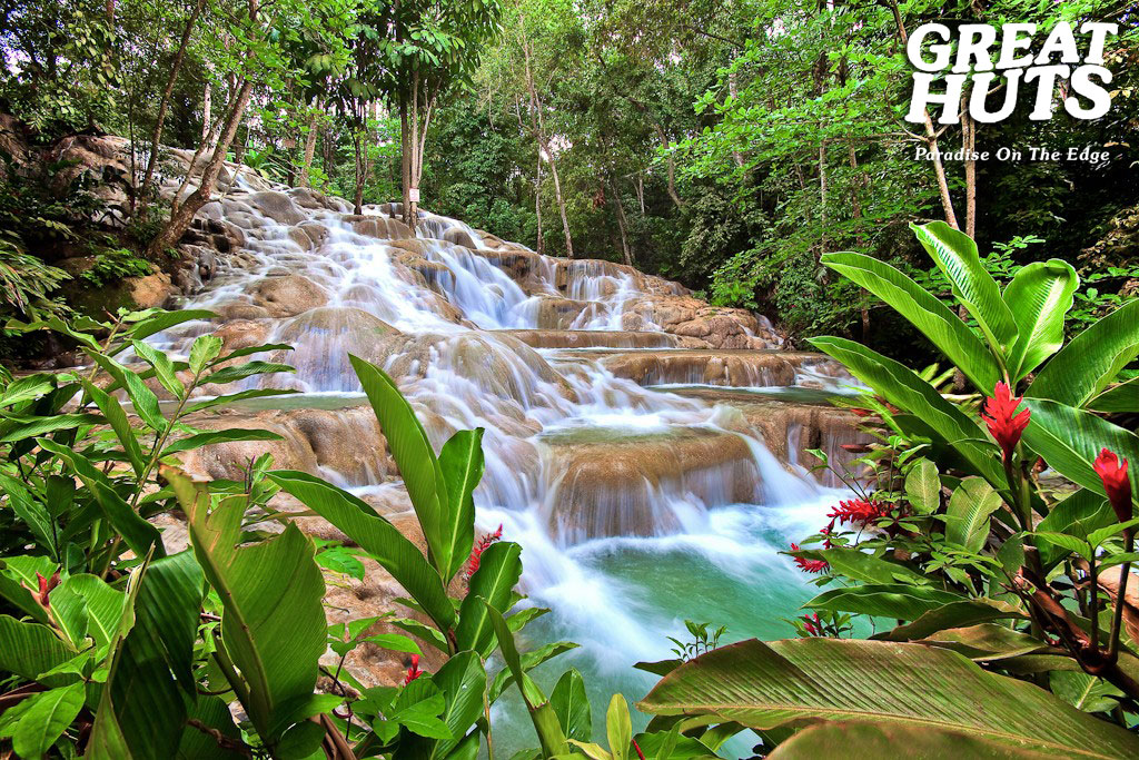 Great Huts Introduces Great Waterfalls Of Jamaica