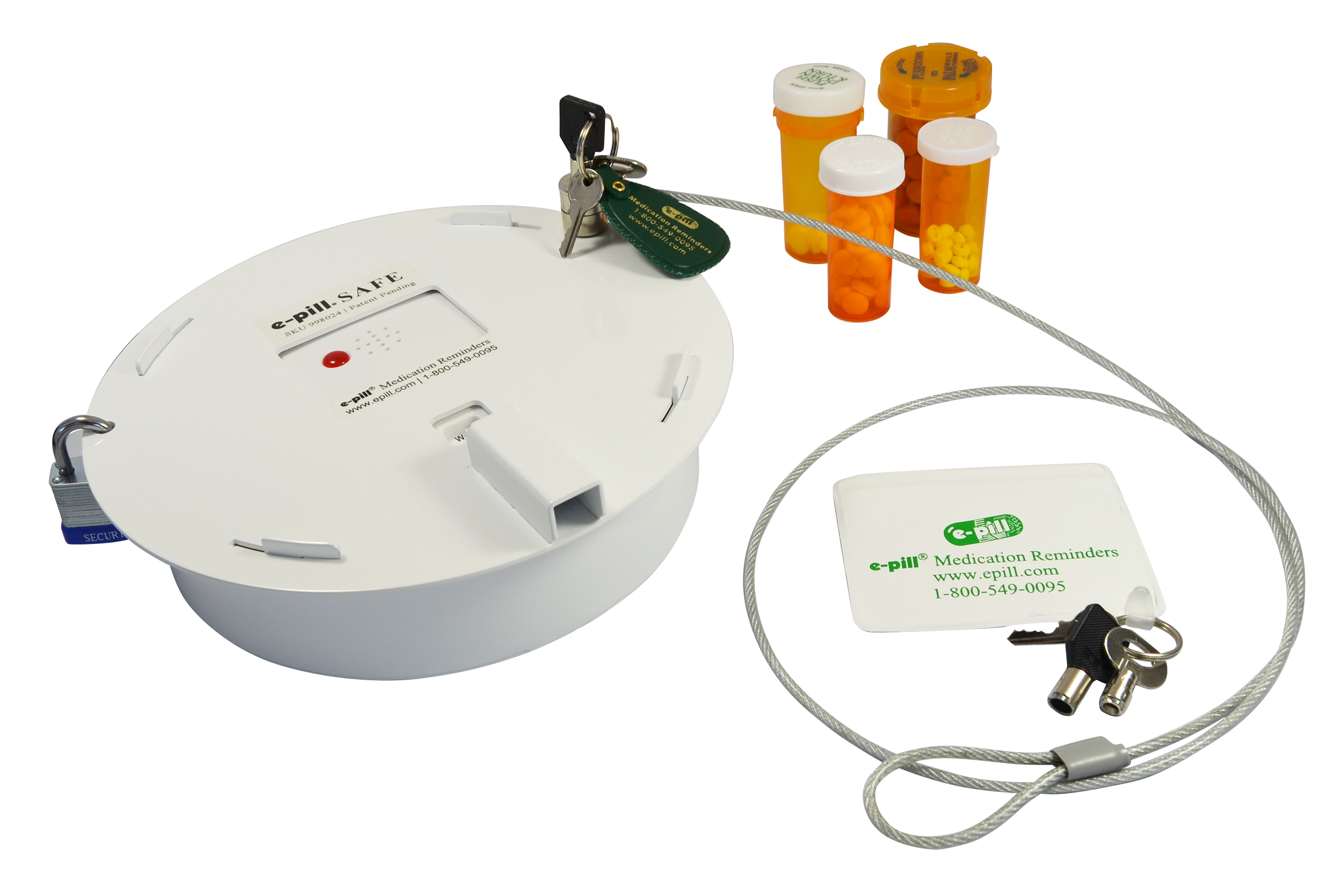 e-pill SAFE SKU 998024 UPC 837066002453 T&er Proof Automatic PIll Boxe- pill SAFE allows Families to manage Pain Pill Addiction T&er Proof e-pill ...  sc 1 st  Online Press Release Distribution Service & Control Pain Pill Addiction and Prevent Overdoses with First ... Aboutintivar.Com