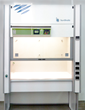 Burdinola filtered fume hood featuring Erlab's GreenFumeHood Technology