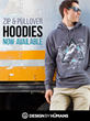 New Graphic Zip Hoodies and Pullover Sweatshirts at Design By Humans