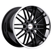 Cray Custom Corvette Wheels - Hawk - Black