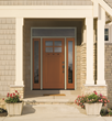 BRONZE TONE on Classic-Craft Canvas Collection door from Therma-Tru.
