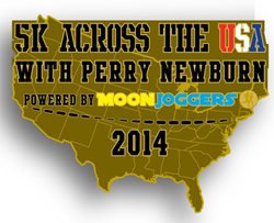 Perry runs the USA Moon Joggers