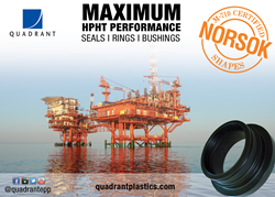 Quadrant's Ketron® PEEK stock shapes are the world's first to achieve NORSOK M-710 (sour gas aging) certification