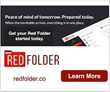 Red Folder - Peace of mind tomorrow, prepared today