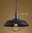Arcada 1 Light Bronze Pendant 21974 From Uttermost