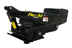Lippert Components, Inc. (LCI®) introduces its new Flex Air Pin Box, which combines LCI's time-tested Trailair® Air Ride technology with its Rota-Flex® pivoting head to significantly reduce fore to aft movement and vertical tug-of-war between a fifth-whee