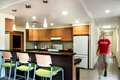 KSQ Architects' Refurbished Residence Hall at Baylor University...