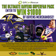 "GiftCardRescue.com Announces the ""Ravens Superfan"" Sweepstakes"